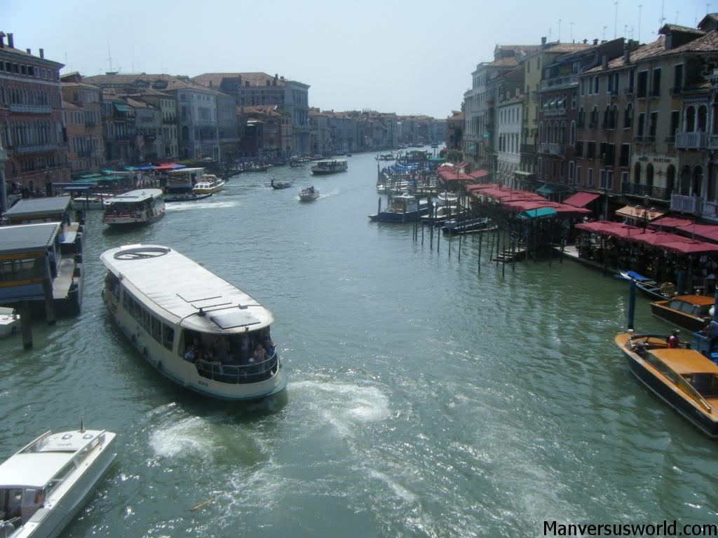 Venice by boat, Italy