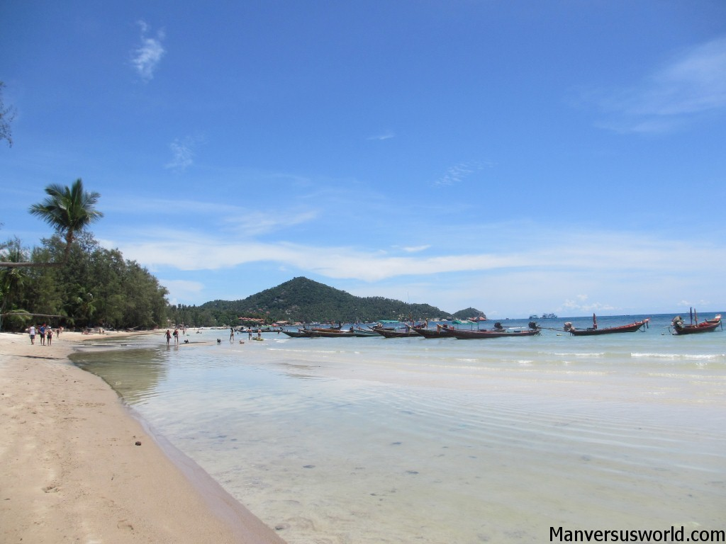 Beautiful Koha Tao beach in Thailand
