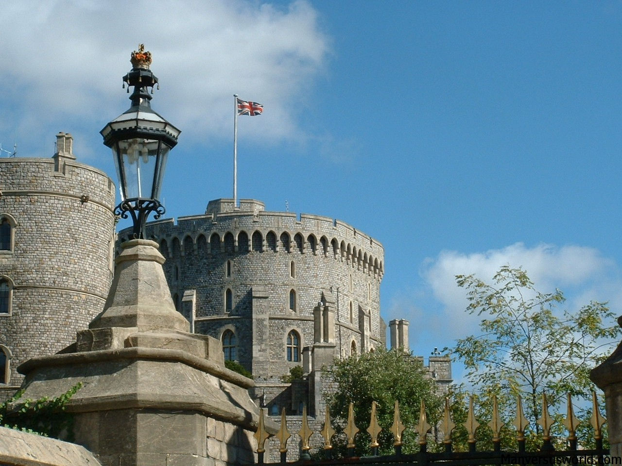 Windsor Castle - home of the Queen of England