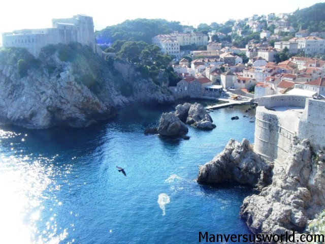 Dubrovnik from its magnificent city walls
