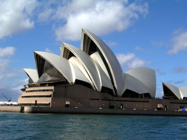 Sydney's iconic opera house, Australia