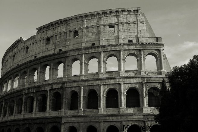The Roman Colosseum in all its glory
