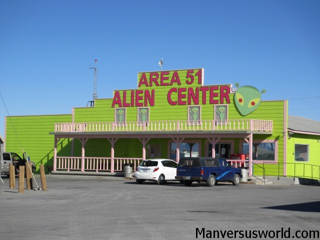 The Area 51 Alien Center in Nevada