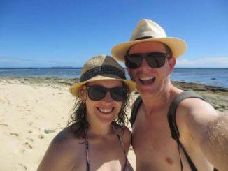 One great day on Beachcomber Island, Fiji