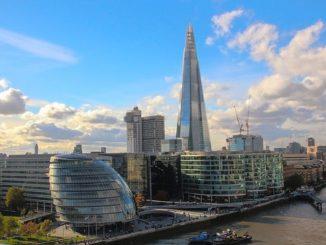 Taking A Bird's Eye View Of London