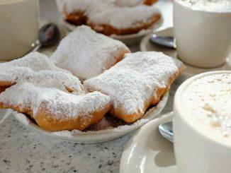 The legendary Café Du Monde in New Orleans